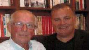 Guilty: Roger Rogerson, left, and Glen McNamara.