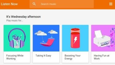 Easy listening: Google Play Music's revamped radio stations make browsing a joy.