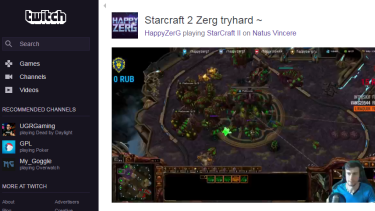 Starcraft is a big deal in competitive gaming, and is a popular game to stream on YouTube and Twitch.