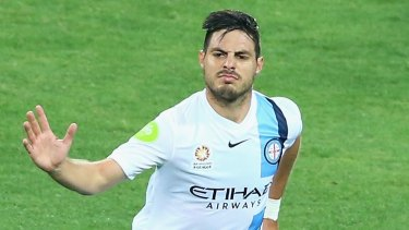 Jamie Maclaren is in form, but City have their own super striker in Bruno Fornaroli.