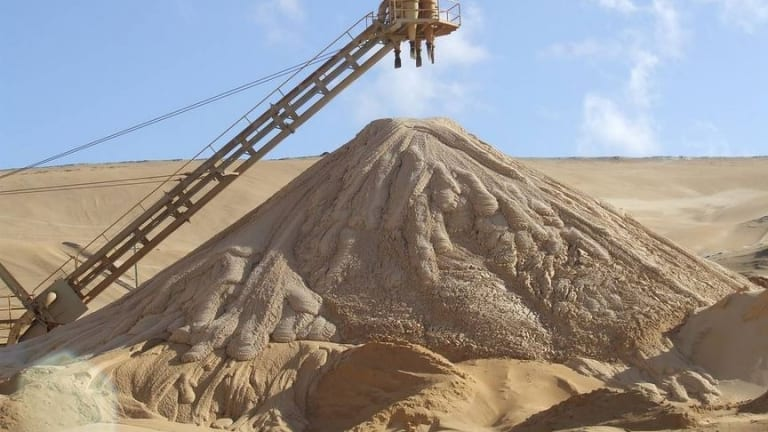 North Stradbroke Island mining company Sibelco has been acquitted of two charges of taking and selling sand without appropriate permits.