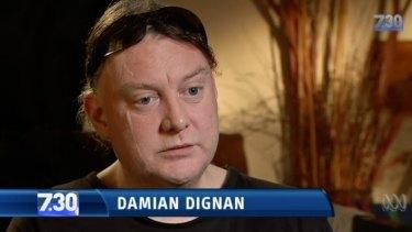 Damian Dignan was a pupil at St Alipius primary school in Ballarat.