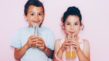 Many kids are consuming sugar from before they're born.