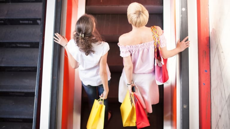 """""""We have the power to surround our children with an environment that values both women and men for what they can do, and that includes the local shopping centre."""""""
