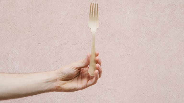 What you choose to put on your fork can make a difference to the environment.