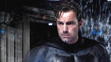 Affleck's standalone Batman film is due to hit cinemas at the end of 2018.