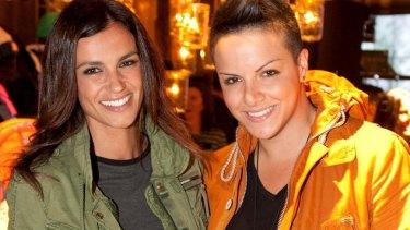 Model Chelsea Butler with Kazeme.