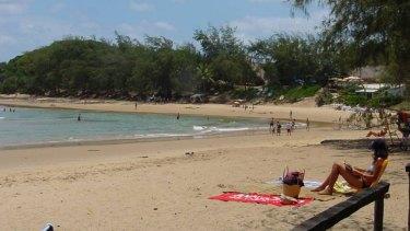 Tofo beach.