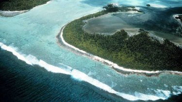 The Cocos Islands.