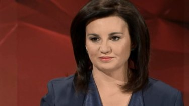 """So you can be a Sharia law supporter and be half-pregnant at the same time, C'mon,"" Senator Lambie said."
