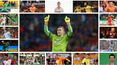 The survivors: The 17 remaining NSL players in the A-League