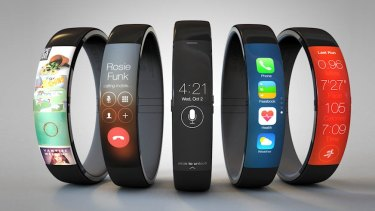 One of the many iWatch concept photos making the rounds online.