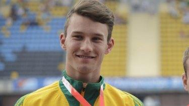 Kurtis Marschall won silver at the under-20 world championships in Poland.