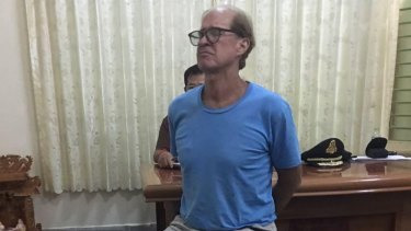 Australian filmmaker James Ricketson after his arrest last year.