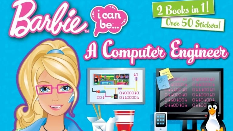 Not quite the geek Barbie women engineers would hope for.