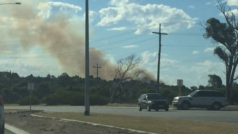 Evacuations over fire at Joondalup campus of ECU.