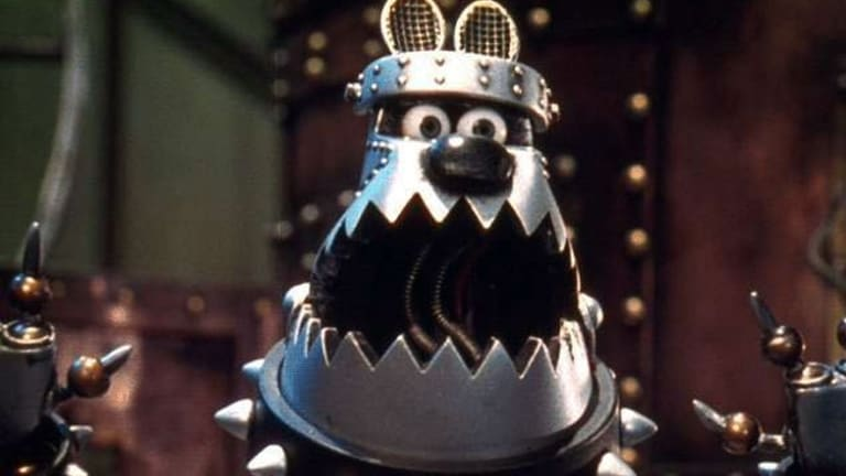A scene from the animated film Wallace and Gromit - A Close Shave.