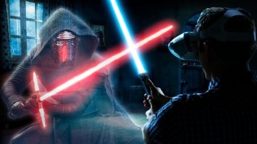 Lenovo's Star Wars: Jedi Challenges uses augmented reality to bring you face to face with your foes.