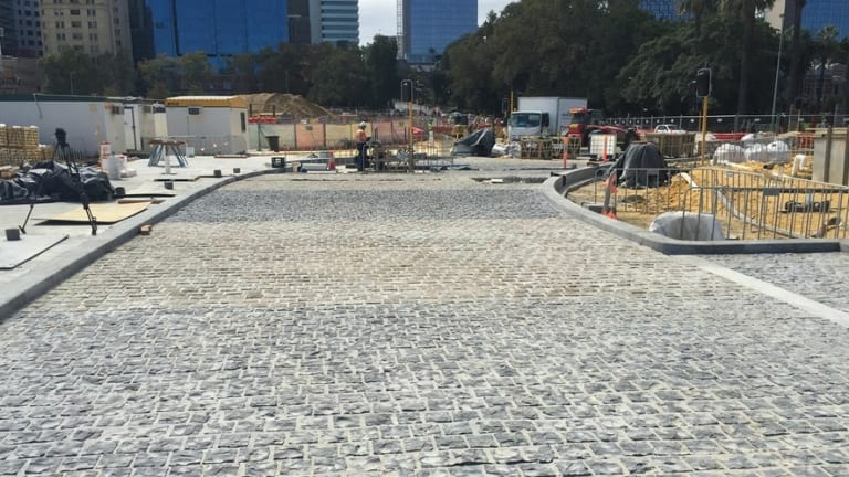 The construction of Elizabeth Quay continues to frustrate Barrack Square businesses.