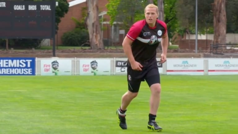 It remains unclear whether Hannah Mouncey will play for Ainslie in Canberra next year.