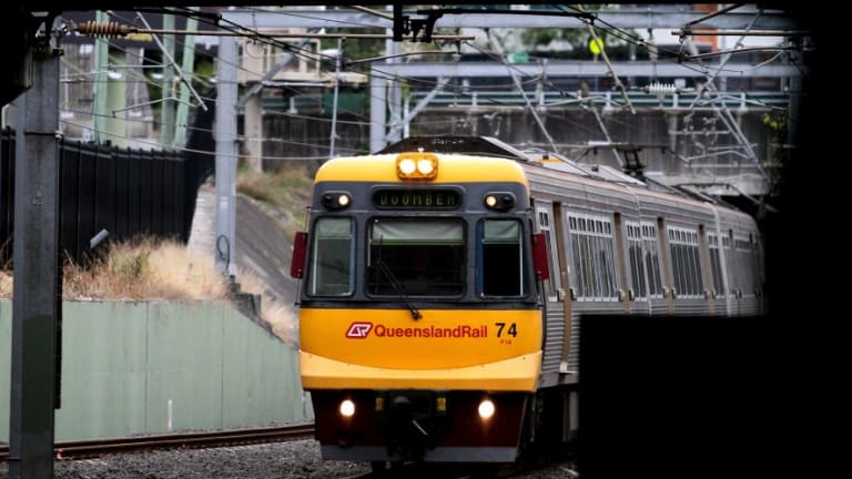 No Brisbane trains are reaching the CBD early on Tuesday morning.