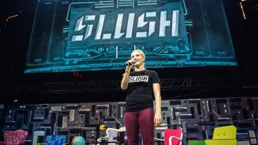 Marianne Vikkula, CEO of Slush, says several other countries have asked to borrow the Slush model.