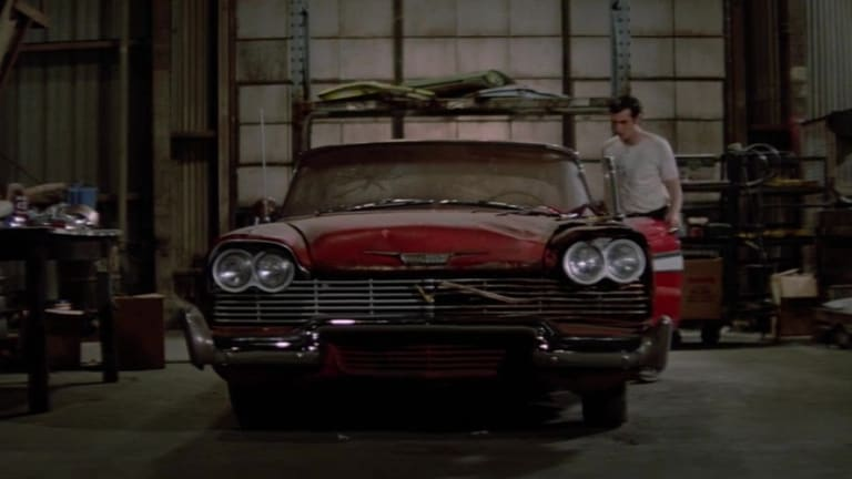 A still from the 1983 horror film Christine.