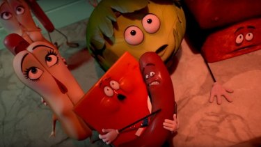 <i>Sausage Party</i> will be released in cinemas later this year and will carry an R-rating in the US.