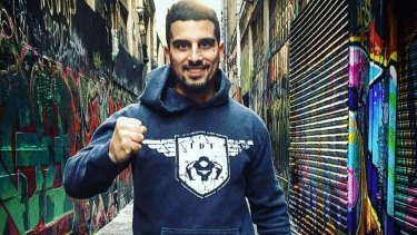 Gym owner Avi Yemini is the co-founder of IDF Training in Caulfield.