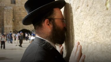 Rabbi Aryeh Goldman in Jerusalem.