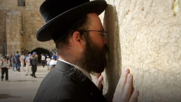 Rabbi Aryeh Goldman in Jerusalem.