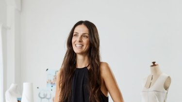 Karla Spetic arrived from Croatia when she was 11 and now runs her own fashion label.