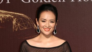 Zhang Ziyi was proposed to at her 36th birthday party.