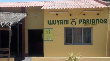 The Wuyani Pariango hostel Elly Warren is believed to have checked into on Tuesday.