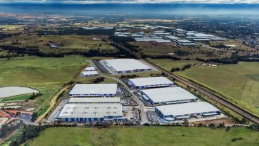 Goodman has developed a facility for DHL on the Oakdale Industrial Estate in western Sydney, which could also be the new home for Amazon