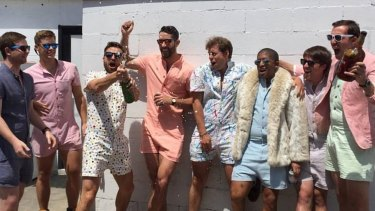6fa5534d56a9 The infamous male romper from RompHim has stormed the globe.