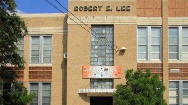 Robert E. Lee Elementary School in Austin, Texas.