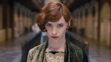 Eddie Redmayne wanted to chart the transformation to Lili in <i>The Danish Girl</i>.