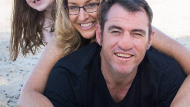 Lucky escape: Dale Carr, pictured here with his wife.