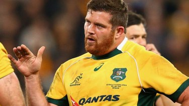 Greg Holmes has earned his first Wallabies starting berth in eight years.