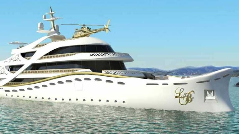The La Belle is a superyacht designed specifically for women.