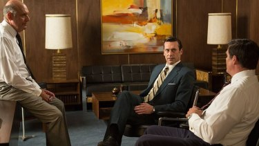 <i>Mad Men</i>, the show that depicted the peak of male-dominated society in the early 1960s.