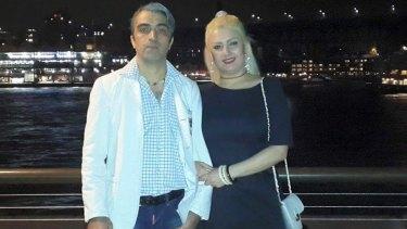 Amir Darbanou and Nasrin Abek.