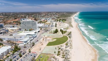 The Scarborough Beach development is overhauling the area.