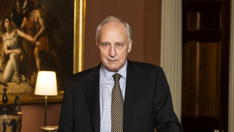 Former prime minister Paul Keating criticised the Sydney Modern Project in the <i>Herald</i> on Tuesday.