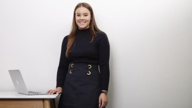 Briella Brown started her business, Your Closet, four years ago at the age of 17.
