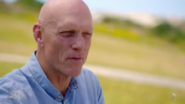 """Peter Garrett in a """"tell-all"""" interview with Channel 7's Sunday Night program."""