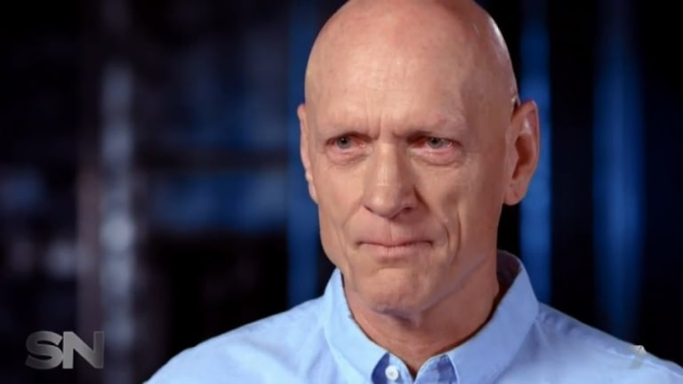 """Peter Garrett gets teary in a """"tell-all"""" interview with Channel 7's Sunday Night program."""
