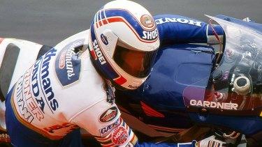 Wayne Gardner became Australia's first 500cc motorcycle world champion in 1990.