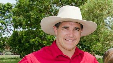 Robbie Katter in Mt Isa.